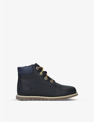 Timberland Pokey Pine leather boots 3-7 years