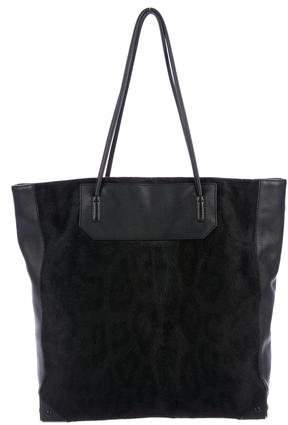 Alexander Wang Leather & Ponyhair Prisma Tote