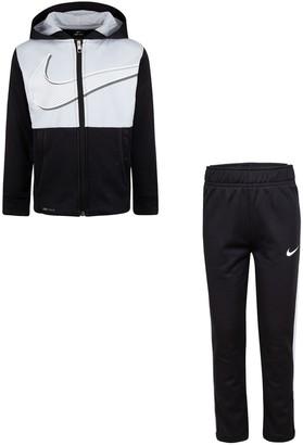 Nike Boys 4-7 Therma Fleece Full-Zip Hoodie & Jogger Pants Set