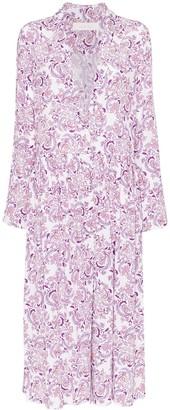 See by Chloe floral print shirt dress