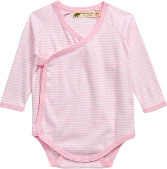 MONICA Lucky Stripe Organic Cotton Bodysuit