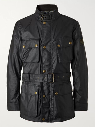 Belstaff Trialmaster Belted Waxed-Cotton Jacket