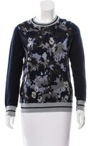 3.1 Phillip Lim Camouflage Intarsia Wool-Blend Sweater