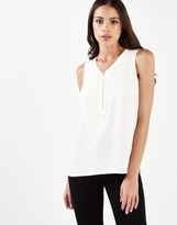 Lipsy Sleeveless Zip Front Blouse