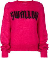 McQ swallow knit jumper