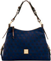 Dooney & Bourke Signature Small East West Slouch