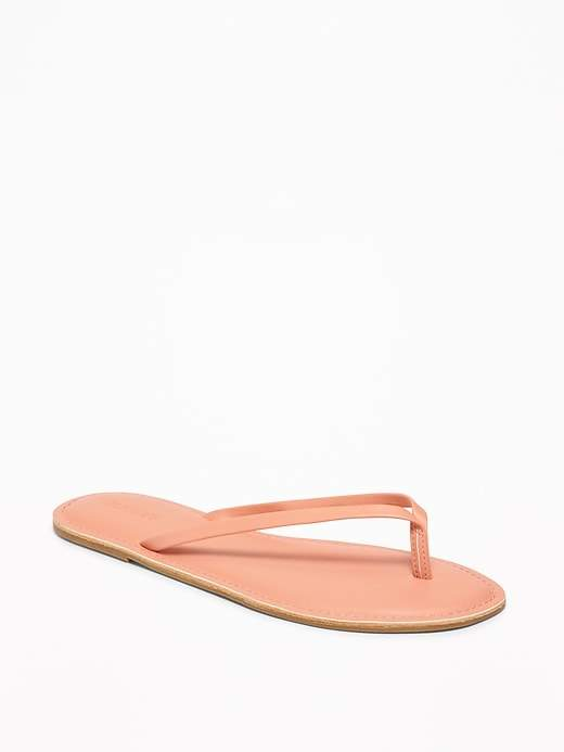 Old Navy Faux-Leather Capri Sandals for Women