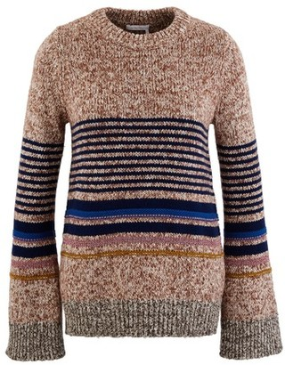 See by Chloe Striped jumper