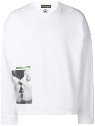 DSQUARED2 Mert & Marcus kiss-print sweatshirt