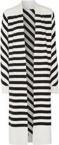 Diane von Furstenberg Carlisle striped silk-blend cardigan