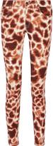 Just Cavalli Stretch cotton-blend skinny pants