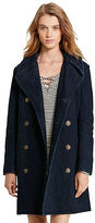 Denim & Supply Ralph Lauren Cotton Dobby Pea Coat