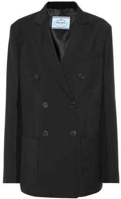 Prada Wool and mohair jacket