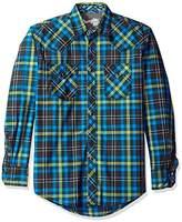 Wrangler Men's 20x Long Sleeve Two Pocket Snap Shirt