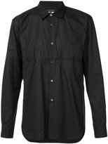 Comme des Garcons gathered detail shirt - men - Cotton - M