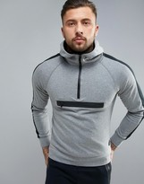 Blend Active Pull Over Hoody With Zip