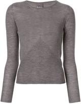 Lorena Antoniazzi boat neck sweatshirt