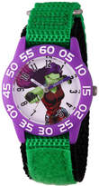 Marvel Guardian Of The Galaxy Girls Green Strap Watch-Wma000141