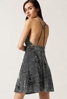 Azalea Velvet Dress