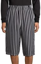 McQ by Alexander McQueen Stripe Printed Trousers