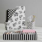 The Emily & Meritt Fabric Desk Accessories Set
