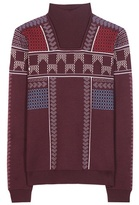 Peter Pilotto Jacquard wool-blend sweater