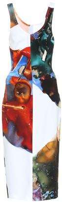 Thierry Mugler Printed dress
