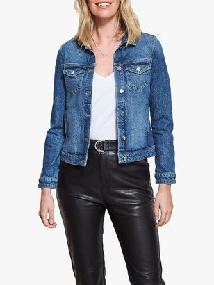 Sosandar Denim Jacket, Black