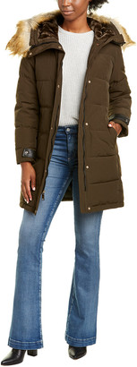 Nine West Hooded Parka