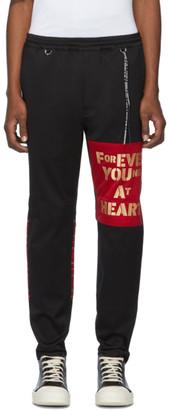 mastermind WORLD Black Zippered Switching Trousers