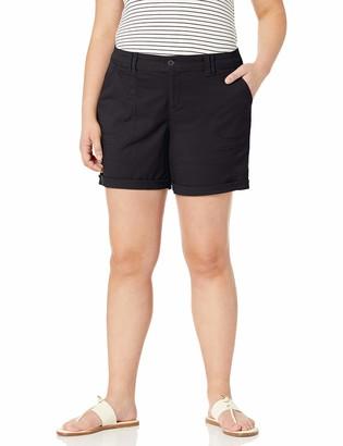 Gloria Vanderbilt Women's Patch Pocket Utility Short