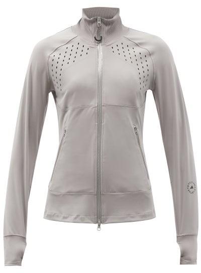 Thumbnail for your product : adidas by Stella McCartney Truepurpose Zip-up Jacket - Light Grey