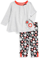 Offspring Mod Floral Tunic & Legging Set (Baby Girls)