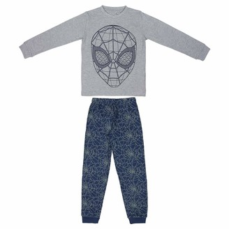 ARTESANIA CERDA Boys' Pijama Largo Spiderman Pyjama Sets