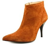 Signature Smith Women Pointed Toe Suede Brown Bootie.