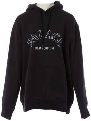Palace Black Cotton Knitwear