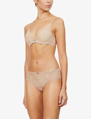 Chantelle Parisian Allure stretch-lace triangle bra