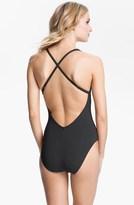 Bleu Rod Beattie Ring Detail One-Piece Swimsuit