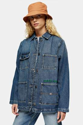Tommy Hilfiger Womens Blue Worker Jacket By Tommy Jeans - Indigo