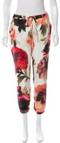 Haute Hippie Floral Print Silk Pants