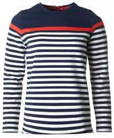 Joules Half Stripe Sweat Top