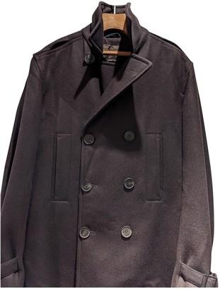 Louis Vuitton Burgundy Wool Coats