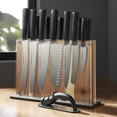 Crate & Barrel Schmidt Brothers ® Carbon 6 15-Piece Knife Block Set