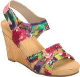 Women's A2 by Aerosoles Plush Day Quarter Strap Wedge Sandal