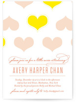 Minted Heartwarming Baby Shower Invitations