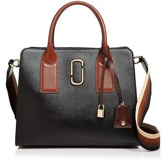 Marc Jacobs Big Shot Color Block Saffiano Leather Satchel