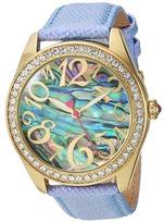 Betsey Johnson BJ00048-201 - Abalone Crystal Bezel Watches
