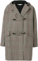 Stella McCartney checked Online duffle coat