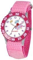Kid's Stainless Steel Time Teacher Watch by ewatchfactory - Pink Strap