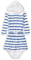 Ralph Lauren Baby Girls Striped Hooded Dress